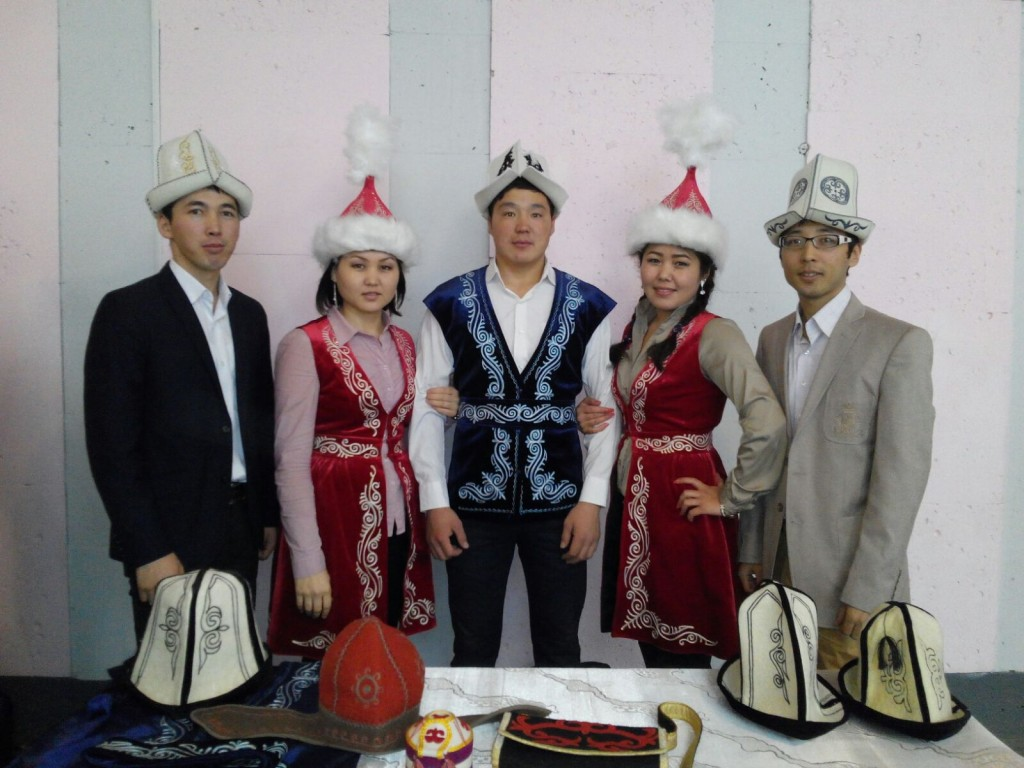 Кыргызская молодежь в Йошкар Оле