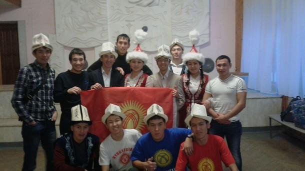 Кыргызская молодежь в Йошкар-Оле