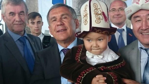 Минниханов с кыргызами