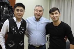 Концертная программа артистов из Кыргызстана